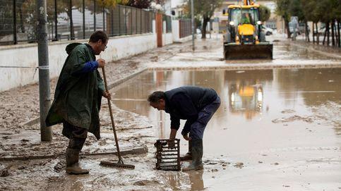 Vuelos desviados y carreteras cortadas por la peor gota fría desde 2008