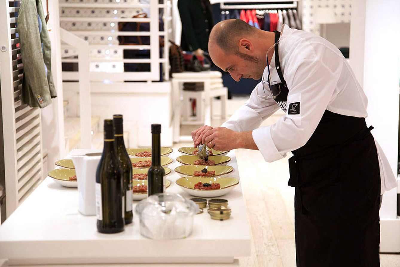 ¿Te imaginas a los grandes chefs cocinando en una boutique?