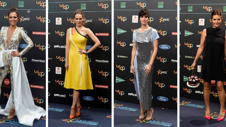 Del pañuelo falda de Paula Echevarría al bolso pastel de Samantha Vallejo Nájera: los 40 Music Awards