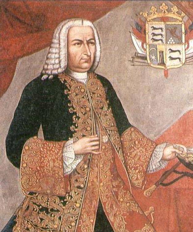 Foto: Retrato de Sebastián de Eslava realizado por Joaquín Gutiérrez.