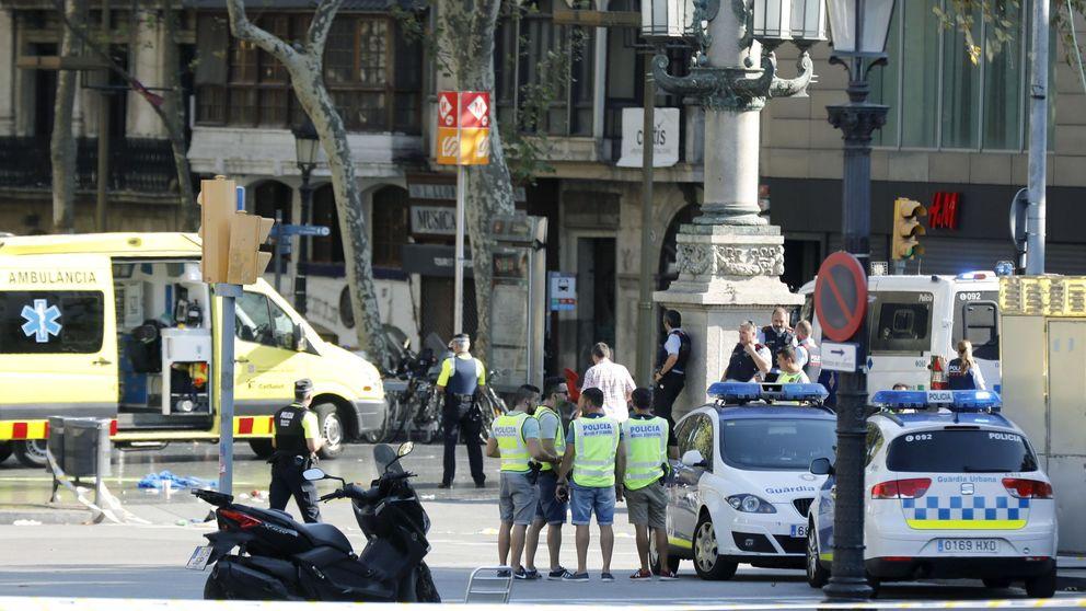 Vídeos tras el ataque terrorista de las Ramblas de Barcelona y Cambrils