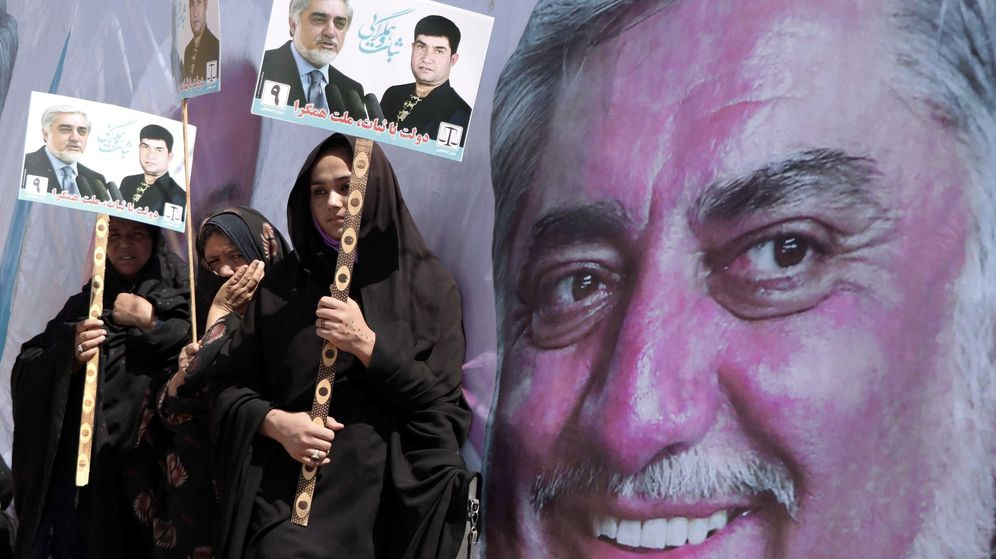Foto: Elecciones presidenciales en Afganistán. (EFE)