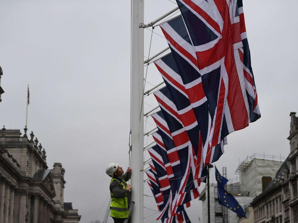 Foto: Banderas de Reino Unido