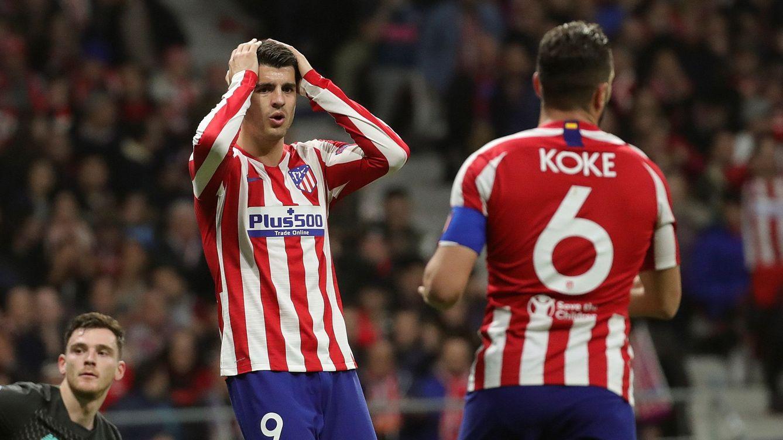 Cuando el Atlético de Madrid vende cara su piel contra el Liverpool y por qué falla Morata