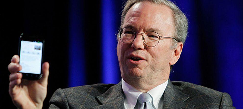 Foto: Eric Schmidt, ex-CEO de Google y coautor de 'How Google Works'