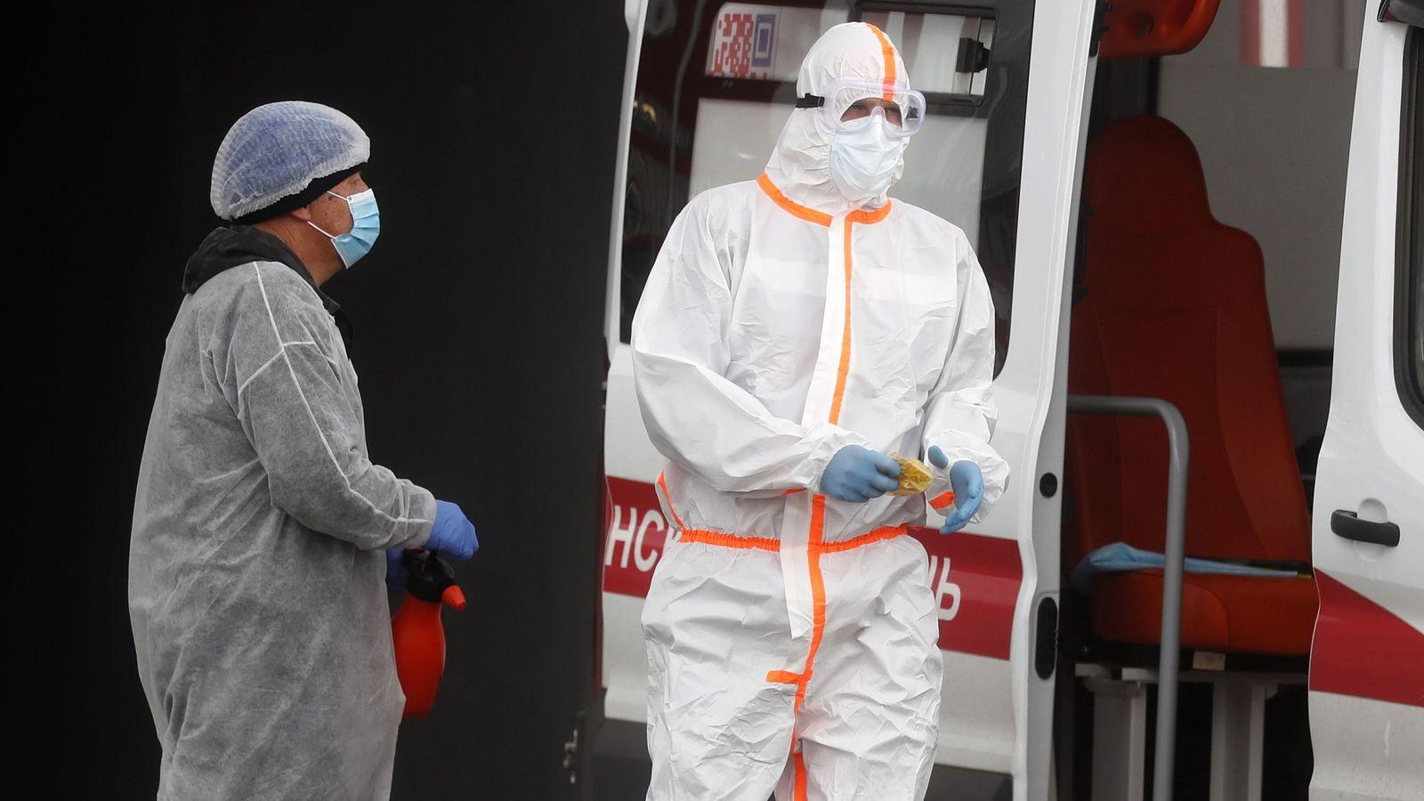 Foto: Rusia distribuye el primer lote de su vacuna. (Reuters)