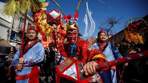 Desfile chino en Lisboa