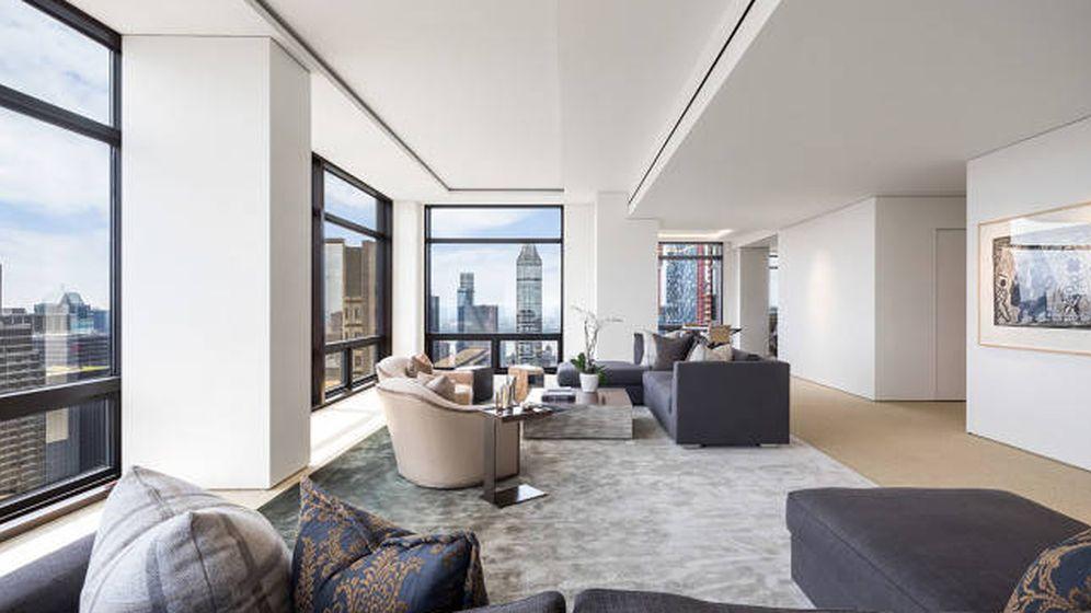 Foto: Imagen del apartamento en Trump Tower. (Real Estate LLC)