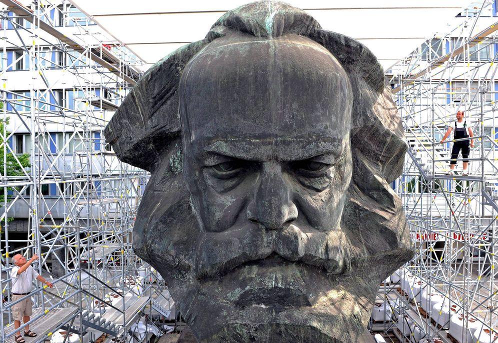 Foto: Museo a Karl Marx en Alemania (EFE)
