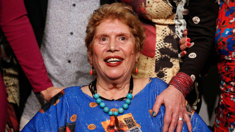María, en la fiesta de su 70 cumpleaños en el SIMOF. (Getty)