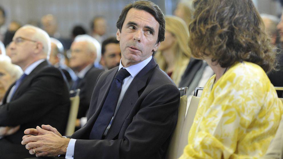 Así celebró Ana Botella, junto a José María Aznar, la noche de cumpleaños