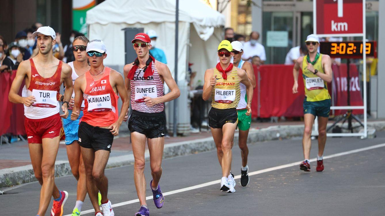 Tokio, en directo | Marc Tur pierde el bronce en los últimos metros del 50km marcha