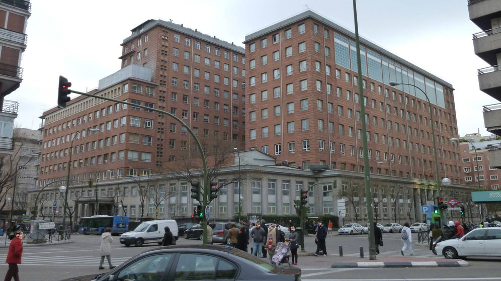 Foto: El Hospital Universitario de La Princesa, en Madrid.