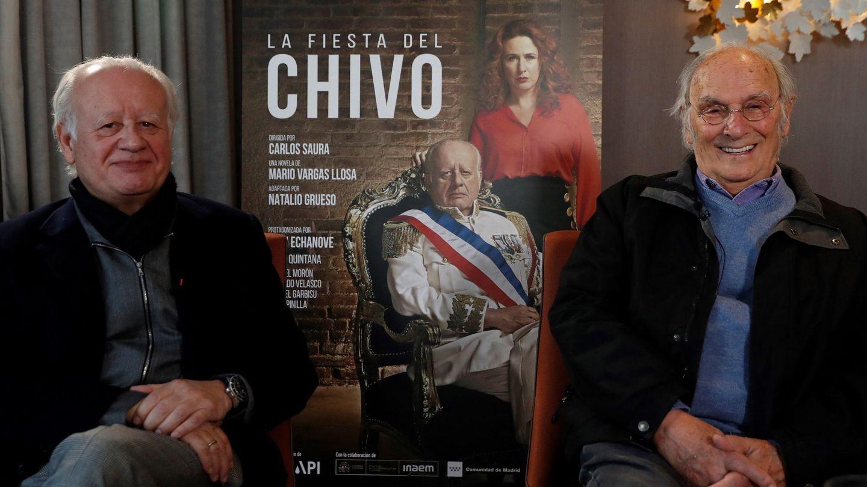 Juan Echanove y Carlos Saura. (Efe)