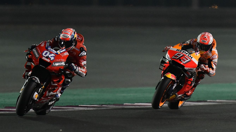 MotoGP: El error de Dovizioso que le ha quitado la victoria a Marc Márquez