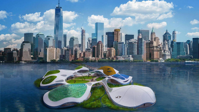 El campus flotante de Nueva York que servirá para planificar el futuro del planeta