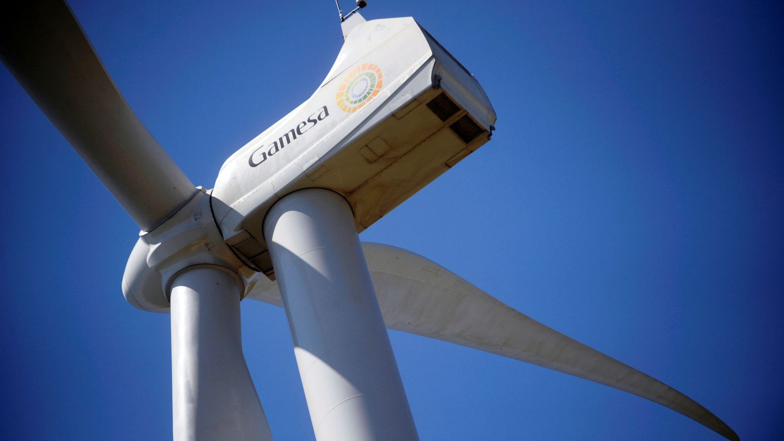 Foto: Una turbina eólica de Gamesa. (Reuters)