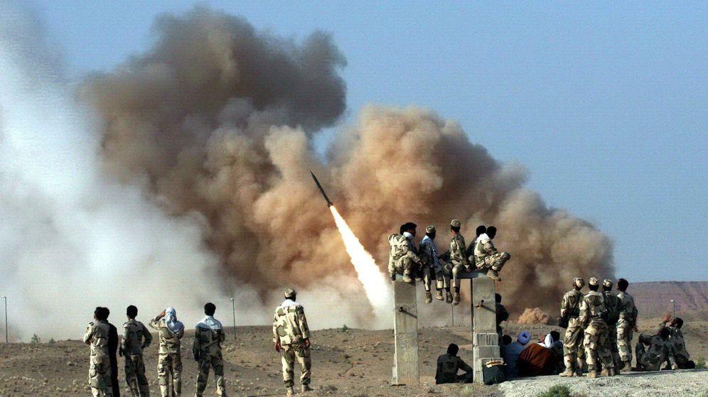 Foto: Ejercicio militares de la Guardia Revolucionaria Iraquí en 2011. (EFE)