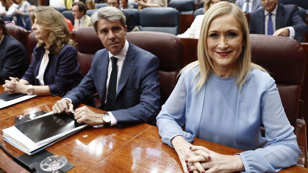 Foto: La Asamblea de Madrid debate y vota la moción de censura contra Cifuentes.