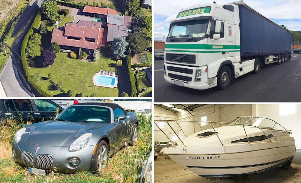 Foto: Algunos de los bienes subastados en el portal de subastas de los procuradores. (Fotos cedidas)