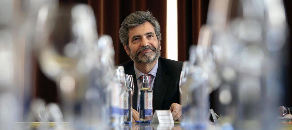 Foto: El presidente del Tribunal Supremo, Carlos Lesmes (EFE)