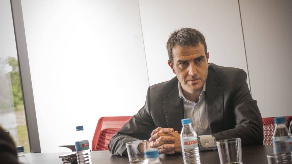 Foto: El nuevo líder de UPyD, Gorka Maneiro. (Carmen Castellón)