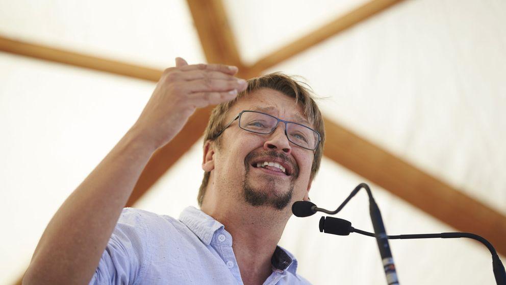 Domènech llama a movilizarse: El 1-O Cataluña dirá a Rajoy que debe irse