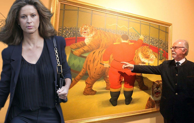 Foto: Elena Cue entrevistó a Botero (fotos de Gtres y Efe)