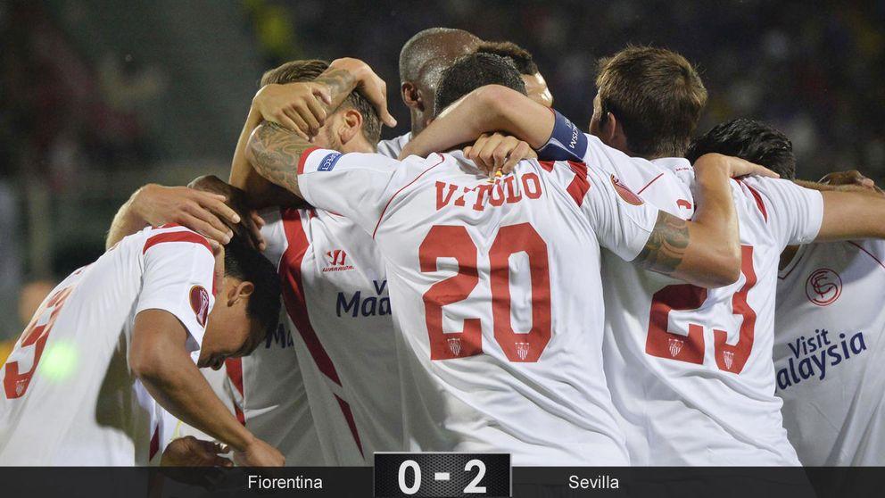 La fiabilidad y la personalidad del Sevilla le llevan a la final de la Europa League