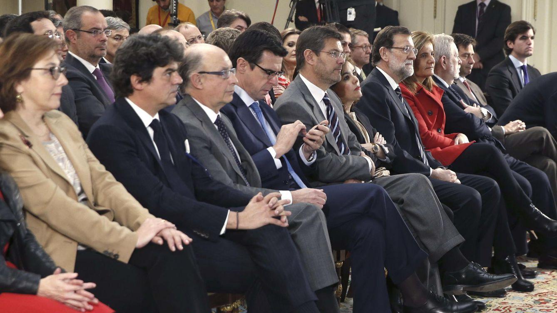 Foto: Imagen de la celebración de la Comisión de Reforma de las Administraciones Públicas (CORA) (EFE)