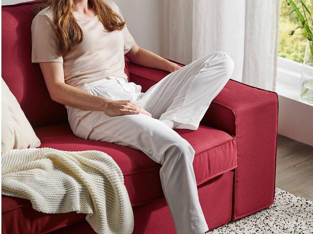 Foto: Sofás baratos de Ikea para salones pequeños. (Cortesía)