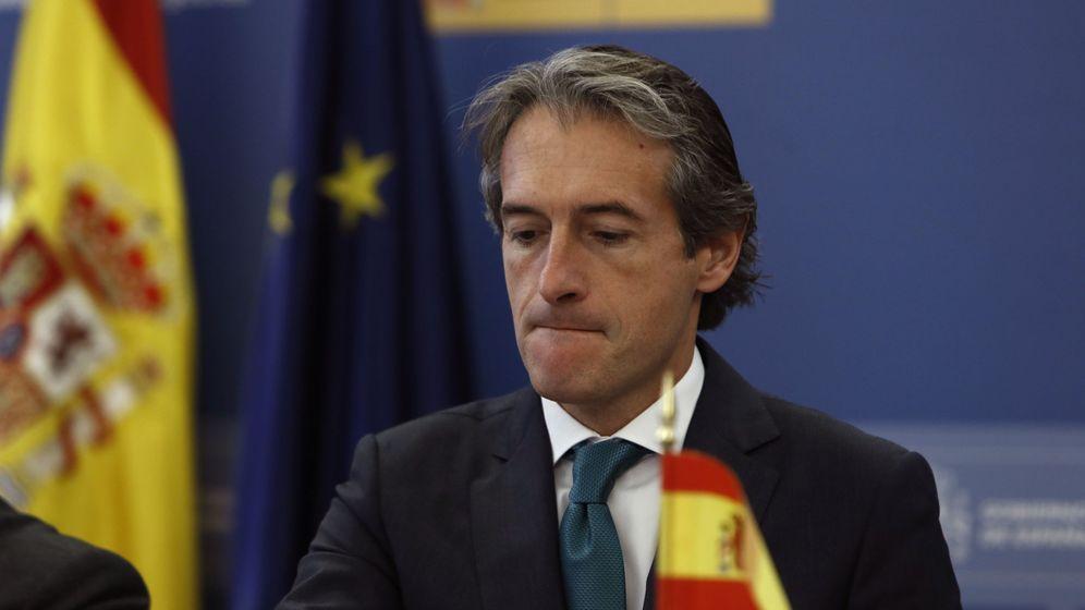 Foto:  El ministro de Fomento, Íñigo de la Serna. Foto: Efe.