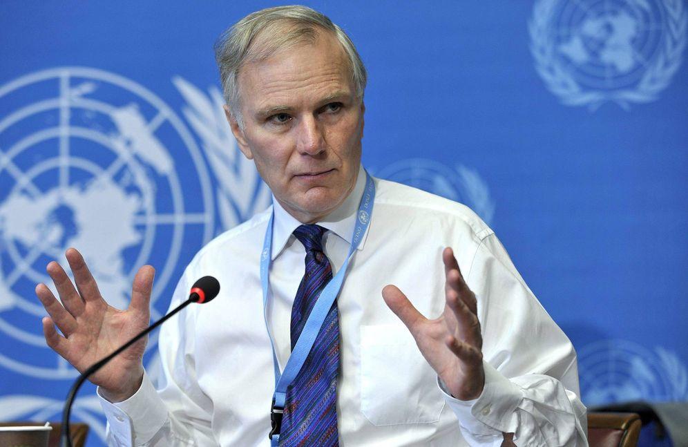 Foto: El relator especial de la ONU para las ejecuciones arbitrarias, Philip Alston. (EFE)