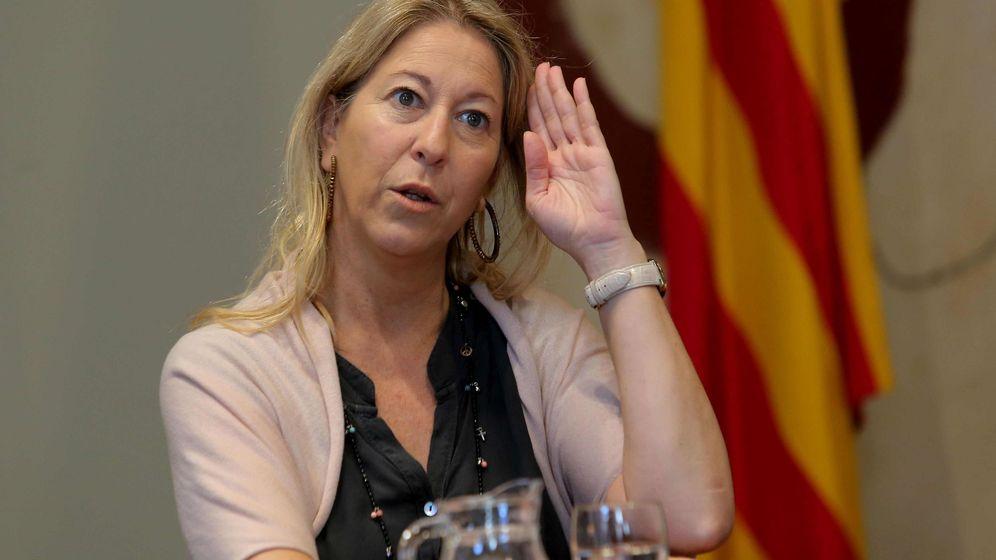 Foto: La 'consellera' de Presidencia y portavoz del Govern, Neus Munté. (EFE)