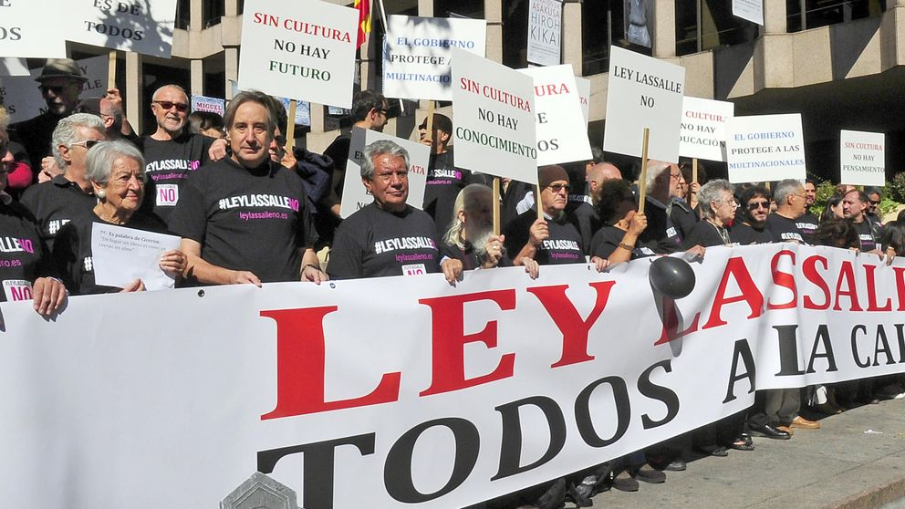 Las gestoras de derechos reclaman 500 millones por impago del canon