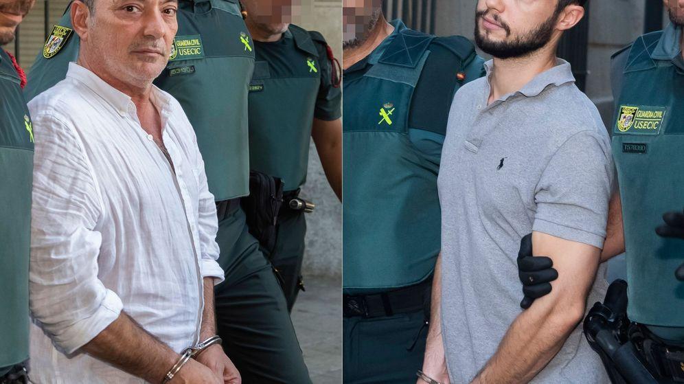 Foto: El gerente de Magrudis, José Antonio Marín y su hijo mayor, Sandro. (EFE)
