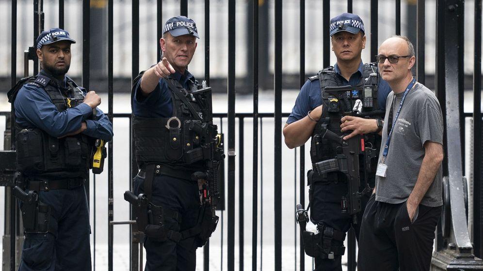 Foto: Dominic Cummings, el principal asesor de Boris Johnson. (EFE)