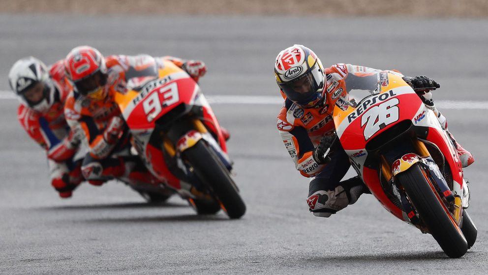 Jerez ya quema rueda con el apasionante GP de España