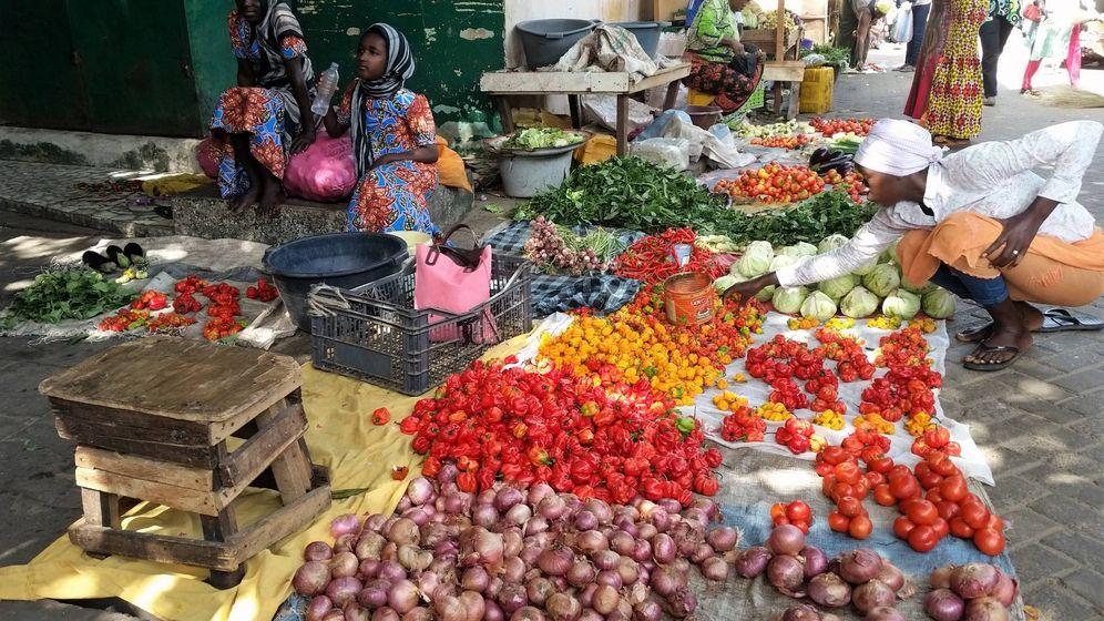 Foto: Sabores y colores en el Albert Market