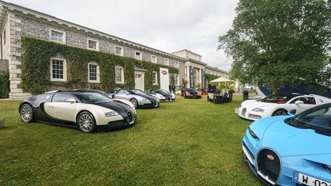 Pleno de Bugatti en el Goodwood Festival of Speed