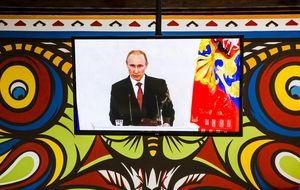 La firma de anexión de Crimea a Rusia devuelve al Ibex los 10.000