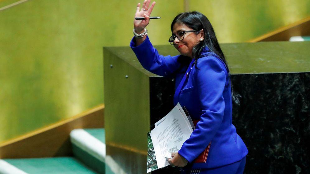 Foto: Delcy Rodríguez en la ONU: REUTERS