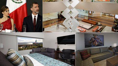 El lujoso hotel en el que se han hospedado los Reyes en México