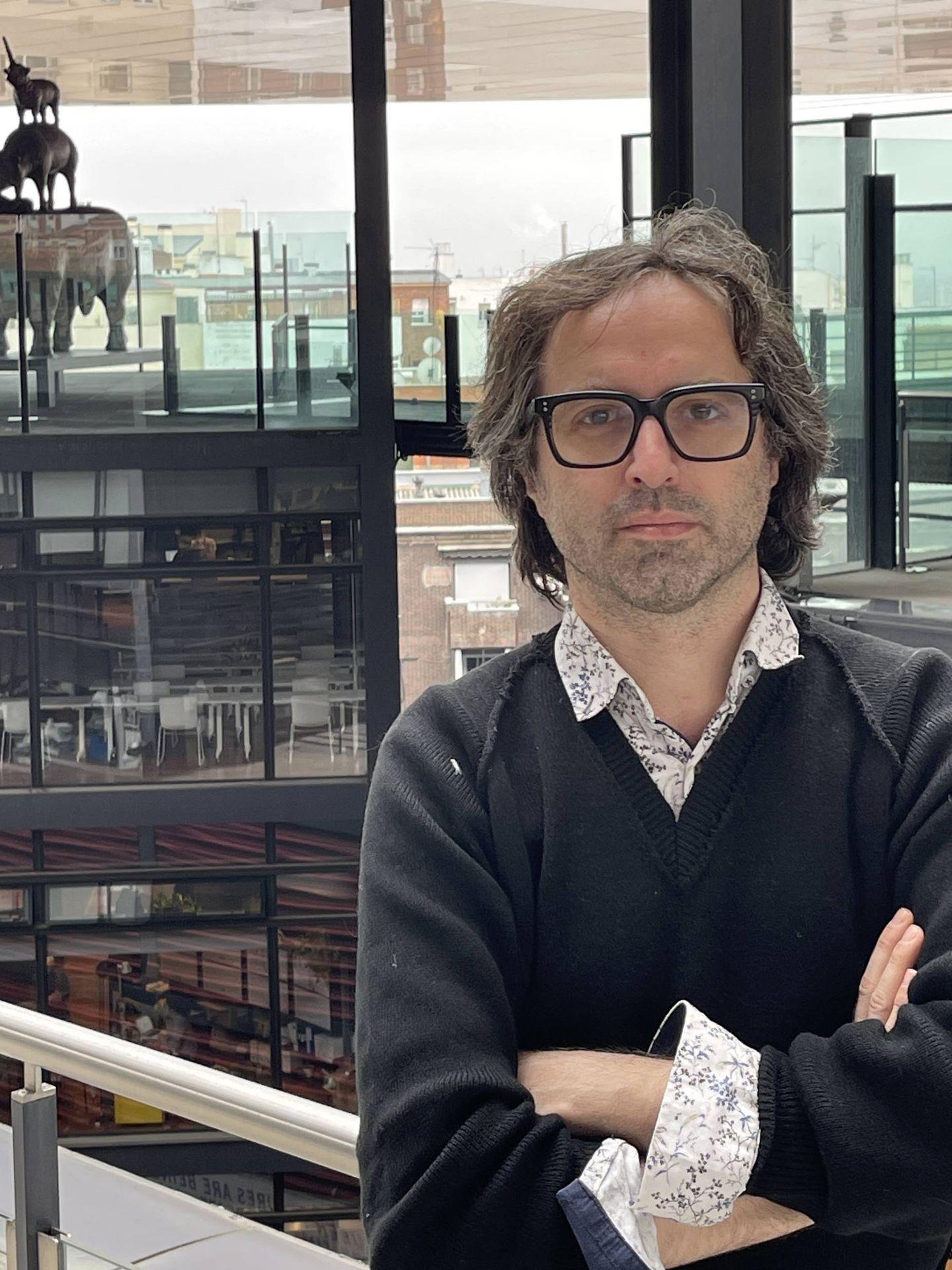 Emanuele Coccia en el Museo Reina Sofía de Madrid