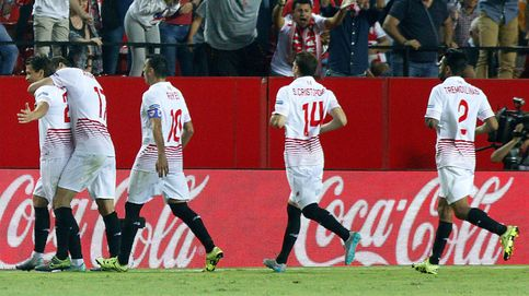 Un gol de falta de Konoplyanka da la primera victoria  en Liga al Sevilla