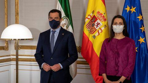 Arrimadas busca hueco para Cs en Andalucía sin el PP e ignora la crisis interna