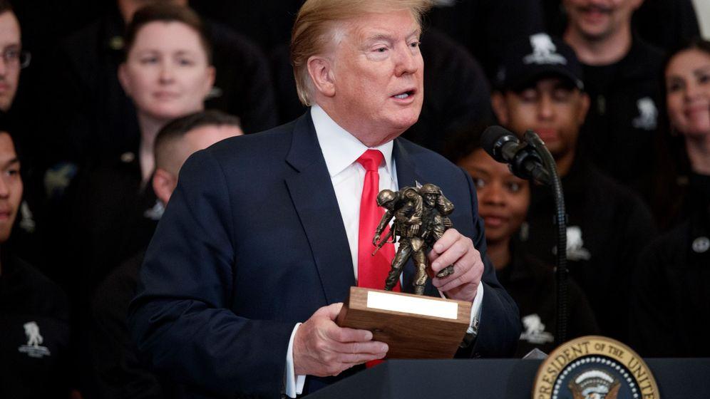 Foto: El presidente estadounidense, Donald Trump. (EEUU)