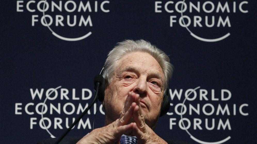 Foto: George Soros, en el Foro de Davos, en enero de 2011. (Reuters)