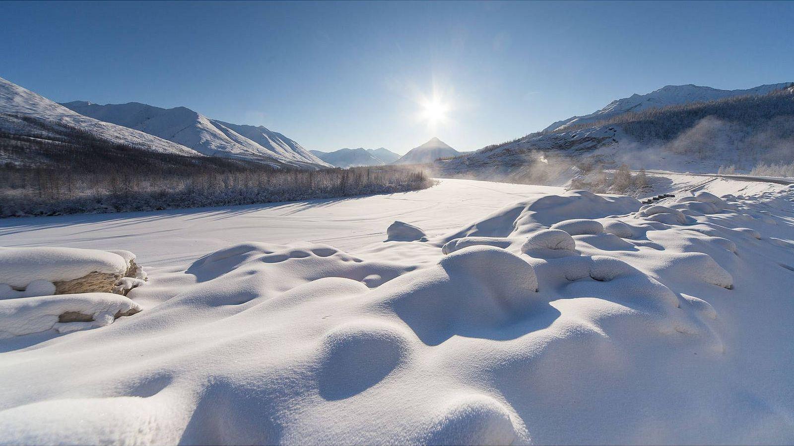Foto: El lugar más frío del mundo: Oymyakon (Rusia).