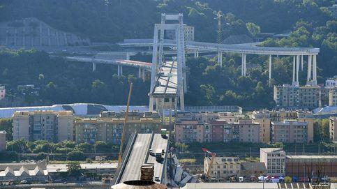 Todas la fotos del accidente del puente en la autopista de Génova